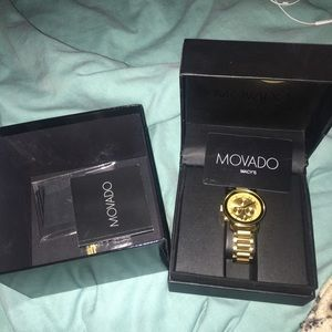 Movado Gold watch